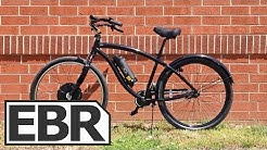 Falco Hx 500 Front Wheel Video Review - Cruiser Bicycle Electric Bike Conversion
