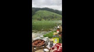 بحيرة جنة الدنيا في سريلانكا تبعد عن كاندي 30 كيلو روووعه في الطبيعة