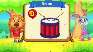 Learn for children ABC Touch Letter.Educational video for Kids.Rv Appstudios.