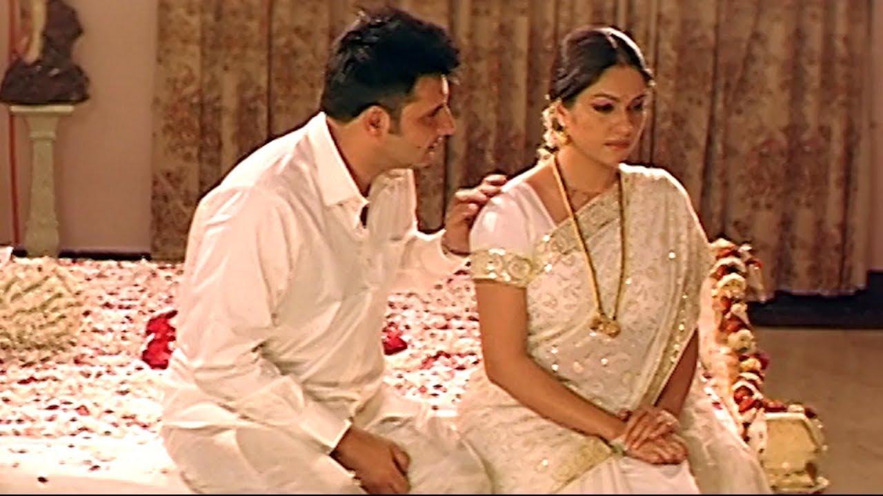Abbas And Gracy Singh First Night Scene    Latest Telugu Movie Scenes     TFC Movies Adda - YouTube