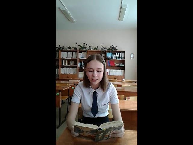 Изображение предпросмотра прочтения – КираРахмаева читает произведение «Весна! Весна! Как воздух чист...» Е.А.Баратынского