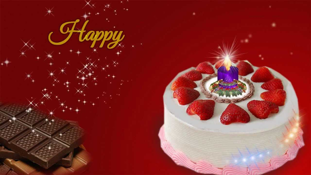 Happy Birthday Video Greeting Ecard For Sister Sis YouTube – Animated Birthday Greeting Cards for Friends