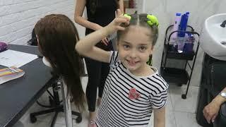 Брейды. Обучение в Hair Shop. Плетение в салоне.