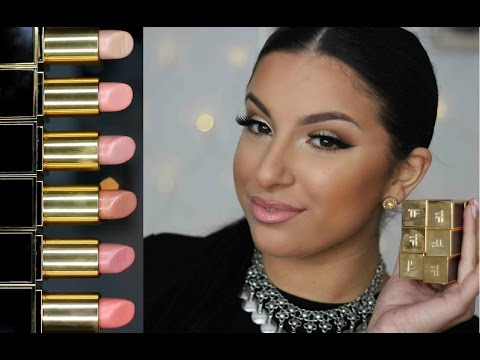 Tom Ford Lipstick Collection   Swatches & Mini Review   Makeup By Leyla