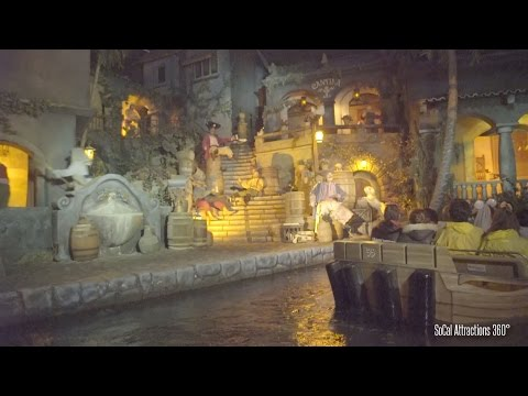 (EXTREME Low Light) Pirates of the Caribbean Full Ride 2015 - Disneyland