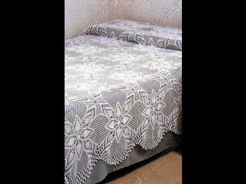 Crochet Bedspread Free Simplicity Patterns140 Youtube