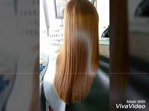 Duỗi thẳng. Hairsalon. Lài Nguyễn.
