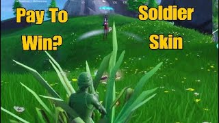 New Toy Soldier Skin In Fortnite Battle Royale