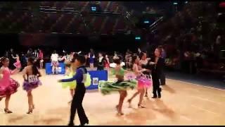 第22屆 IDTA杯(全球舞王挑戰賽) 心思舞蹈學員Jive比賽 5/10/2014