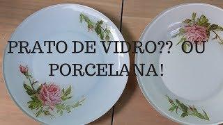 Transforme Prato de Vidro – Em Lindos Pratos de Porcelana