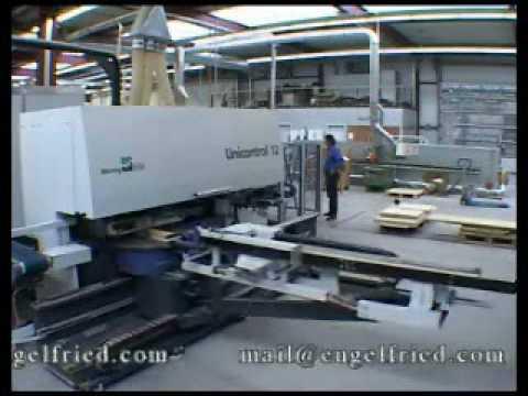 Weinig Unicontrol 12 CNC Winkelanlage Window Production Center
