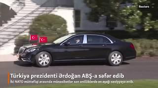 Erdoğan ABŞ-da belə qarşılandı