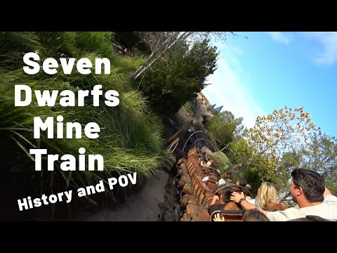 Seven Dwarfs Mine Train  At The Magic Kingdom History And POV