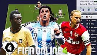 """Khoảnh Khắc """" TUNG HOÀNH """" Của QUÁI VẬT H. Crespo TT & VUA Pele TT & D. Bergkamp TT By I Love FIFA"""