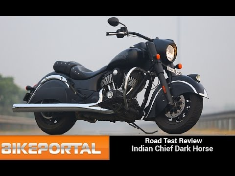Indian MotorCycle Chief Dark Horse Test Ride Review - Bikeportal