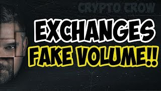 Fake Exchange Volume?!! - Wash Trading - BTI - OKEX - HUOBI - HITBTC and others! HOLY COW 😲