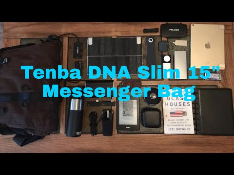 "Tenba DNA Slim 15"" Messenger Bag & What's In My Tech Bag 2017 Edition"