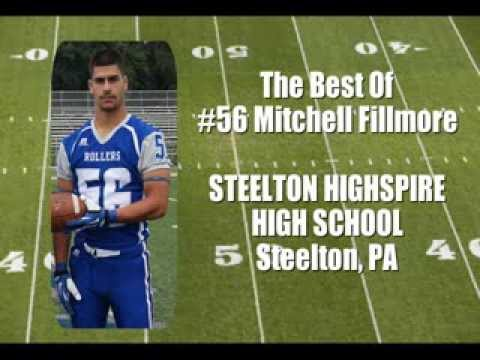 "The Best Of #56 Mitchell Fillmore ""Center/Long Snapper/DE/LB"" (Steelton Highspire High School)"