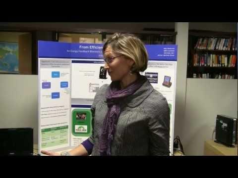 Capstone Fair - Energy Feedback Monitors. Marlboro Graduate School,Vermont