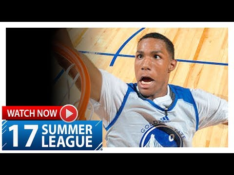 Patrick McCaw Full Highlights vs 76ers (2017.07.08) Summer League - 25 Pts