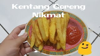 quick & easy fries at home