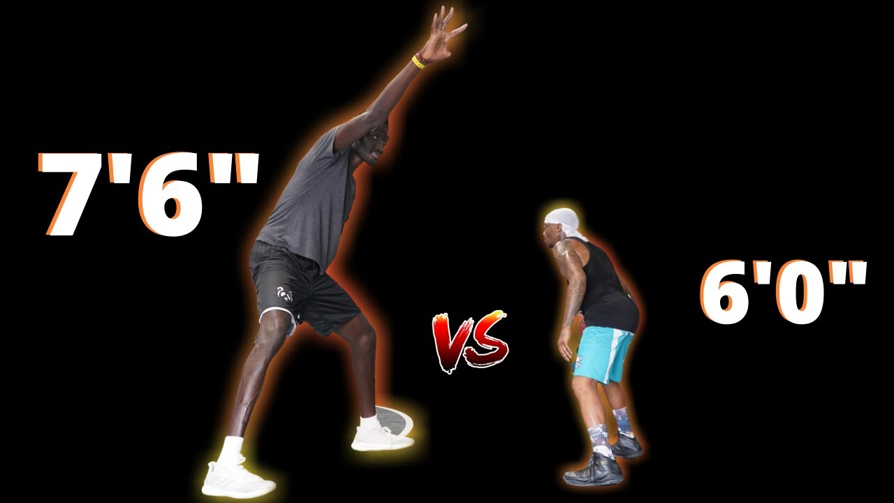 "Bone Collector vs 7'6"" NBA Player"