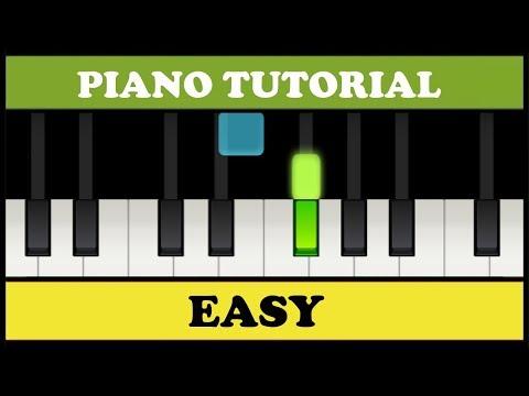 Beethoven - Para Elisa | Fur Elise | Easy Piano Tutorial (Synthesia)