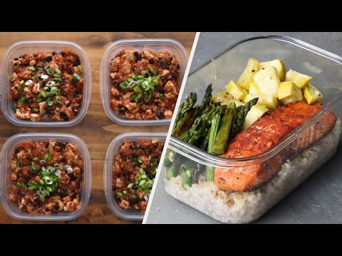5 Easy & Healthy Meal Prep Recipes Healthy Food Videos