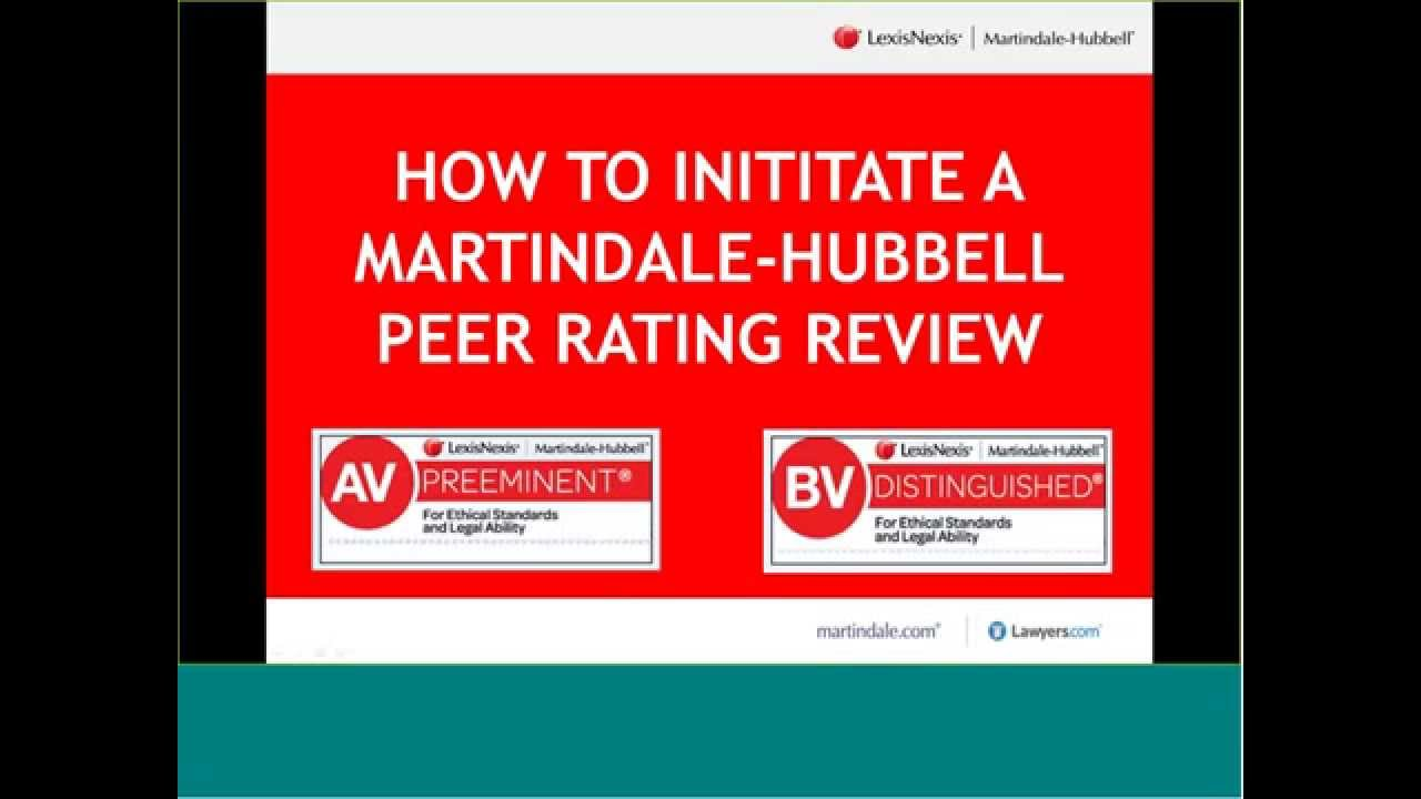martindale ratings in advertising ethics