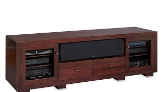 Haven Ex 82-inch Solid Wood Tv Stand By Standout Designs - A Virtual Tour
