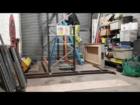 Today's project.  2 post car lift can you build one on your own? Filmed on Samsung Galaxy S7 Edge