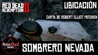 Red Dead Redemption 2 - Donde Encontrar el Sombrero Nevada - Carta Robert Elliot Patchen - Ubicación
