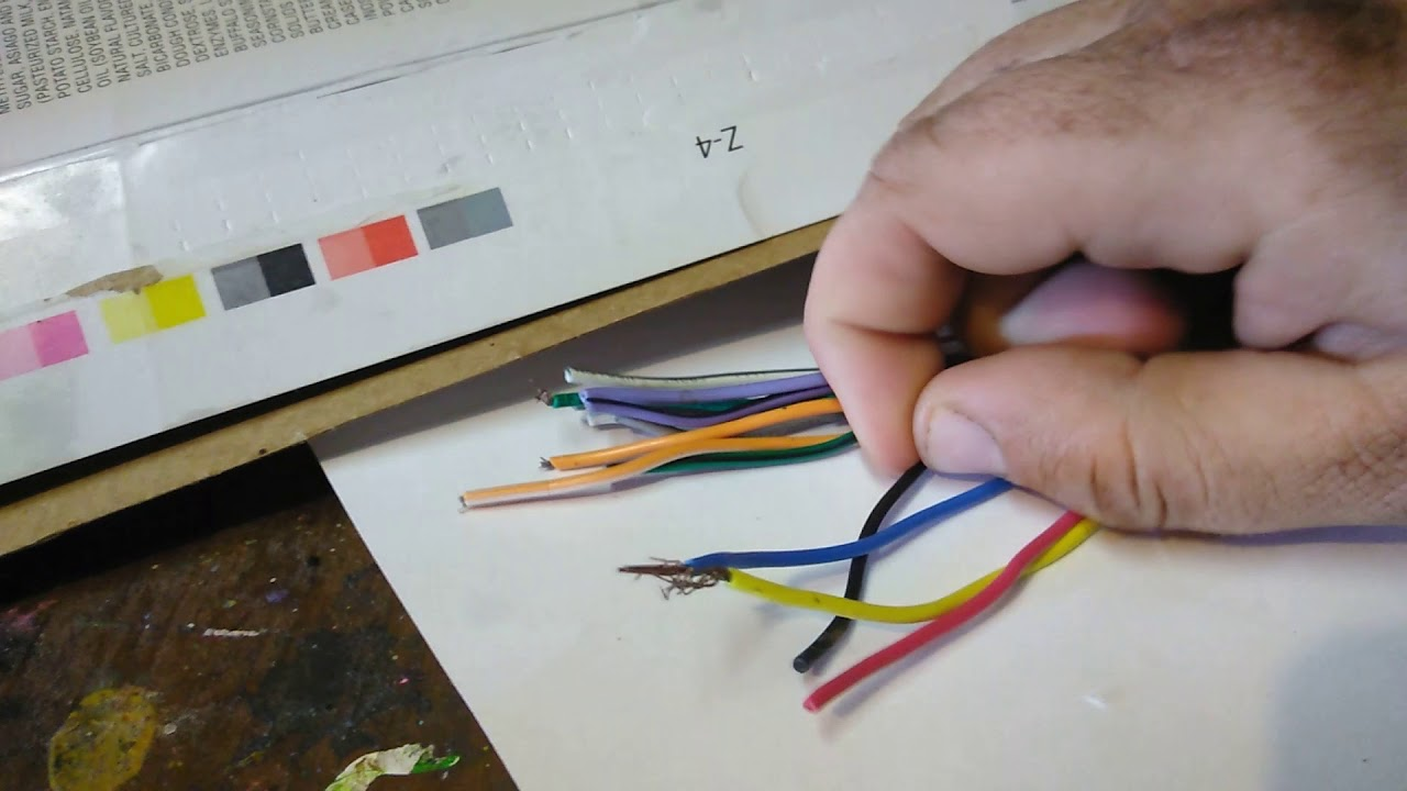 Car Stereo Harness Wire Colors Meaning