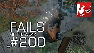 Fails of the Weak: Ep. 200 - Watch Dogs, GTA V, Battlefield 4, and FIFA 14   Rooster Teeth