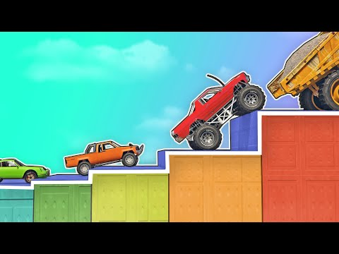 GTA 5 | Which VEHICLE CLIMBS over the HIGHEST OBSTACLE?
