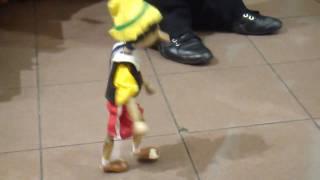 Pinocchio Marionette dancing like Michael Jackson