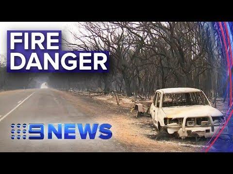 SA Bushfires: Kangaroo Island Fire Threat Reduced | Nine News Australia