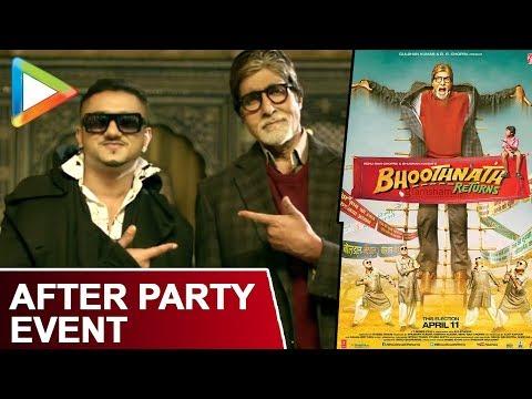 Exclusive - Media After Party With Bhoothnath Returns | Yo Yo Honey Singh | Amitabh Bachchan