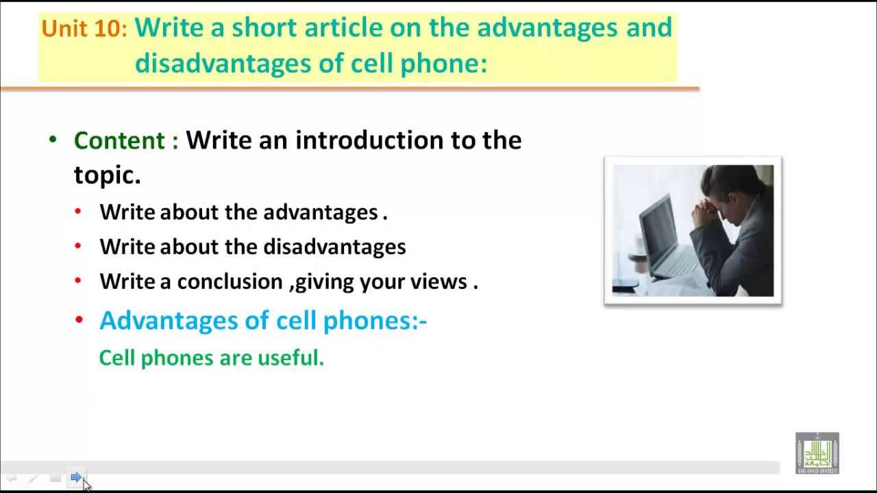 essay about cell phones advantages Essay example on the topic advantages and disadvantages of using mobile  phones categories: fce essay.