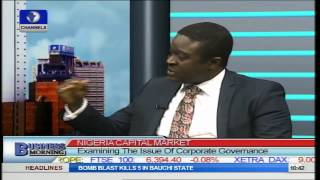Business Morning: Examining The Issue Of Corporate Governance Part 2