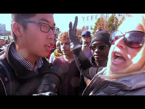 Clash between media and ConcernedStudent1950 (full)