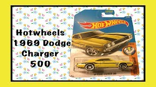 Unboxing And Review Of Hotwheels 1969 Dodge Charger 500