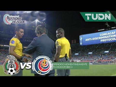 ¡El juego se para NUEVAMENTE por grito homofóbico! | Nations League Semifinal | TUDN