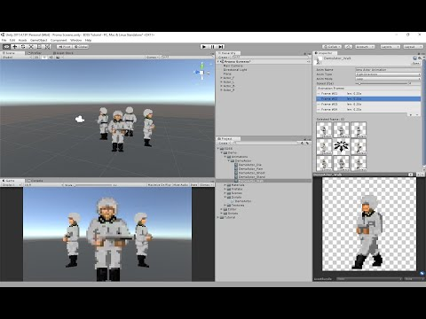 Eight Directional Sprite System for Unity Software - Tutorial thumbnail