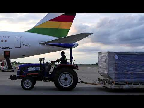 Zimbabwe's first vaccines arrive