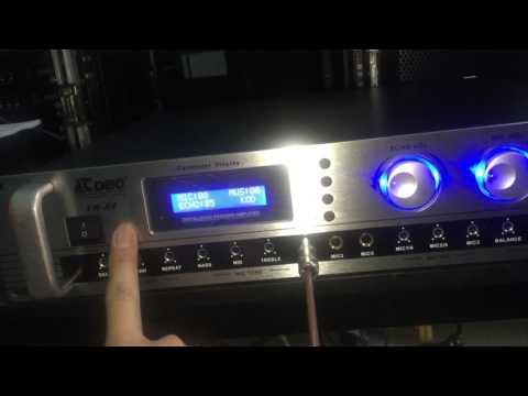 Amply karaoke CDBO TK-X4