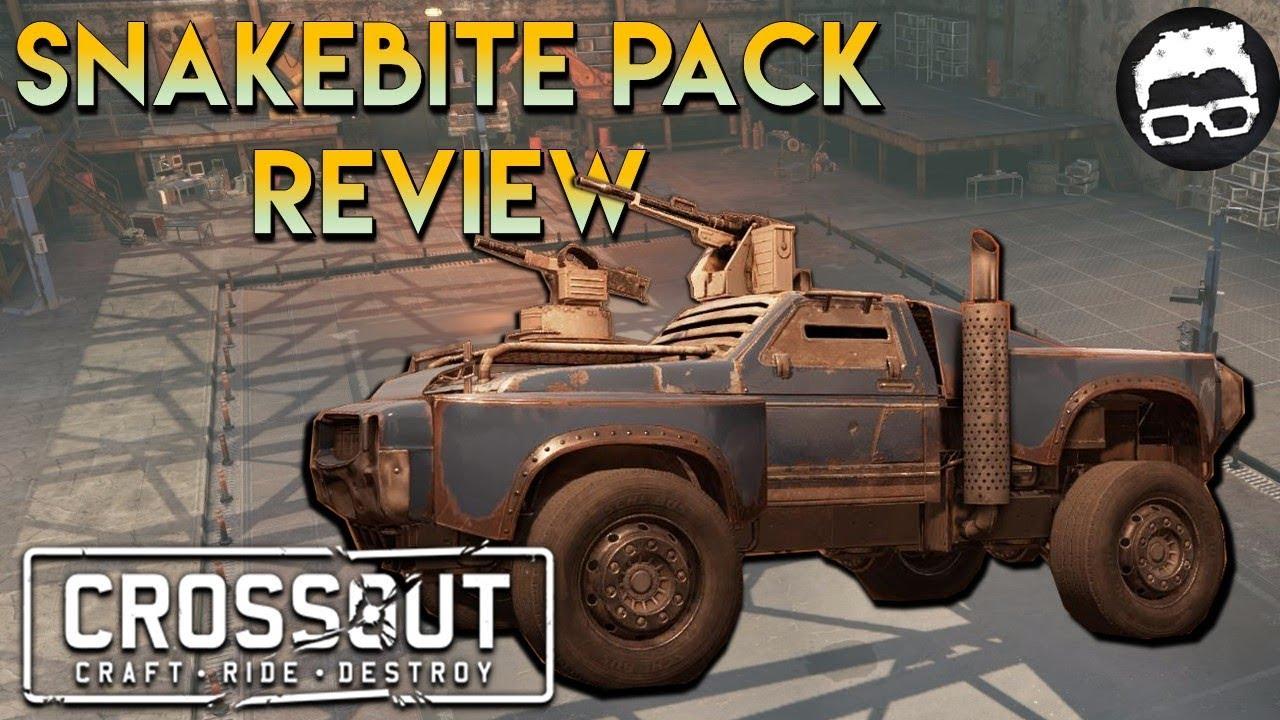 Crossout Snake Bite Starter Pack Review #19
