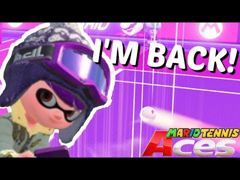 IM BACK FROM THE DEAD! (Sorta) l Mario Tennis ACES w/ Neo!