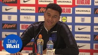 Video: England v Colombia: Jesse Lingard press conference