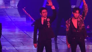 [FANCAM] GOT7 EYES ON YOU TOUR IN SEOUL - I AM THE KING (Jinyoung focus)